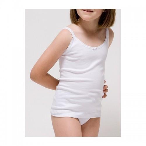 Camiseta interior tirante fino niña de Rapife