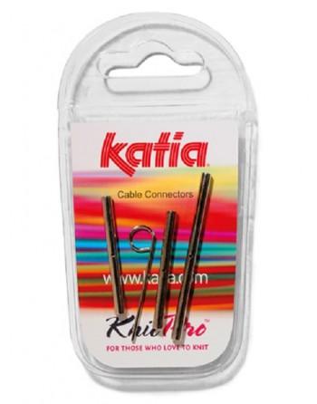 Conectores cable  de Katia fabricado por KnitPro