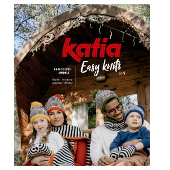 Revista Easy Knits Nº 9 de Katia