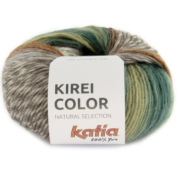 303 Verde pálido-Marrón-Azul agua