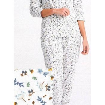 Detalle del pijama de señora de Kiff Kiff, modelo 5180