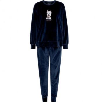 Pijama Velour Señora Kiff Kiff 5176