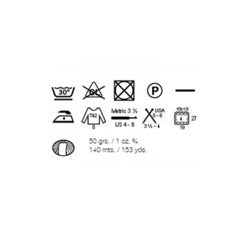 Características lana Atlantic/Pacific Katia